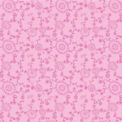 7221 Pink med grene og blomster