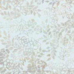 7236 Råhvid med mønster bali batik
