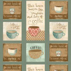 Panel med Kaffemotiver