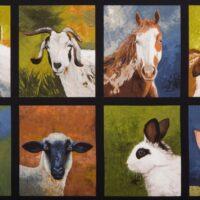 7248 - Panel med landbrugsdyr