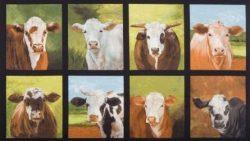 7249 - Panel med køer