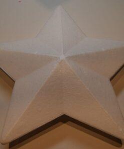 Stjerne 25 cm Styropor