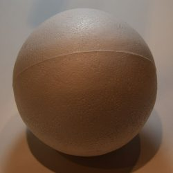Kugle 12 cm Styropor