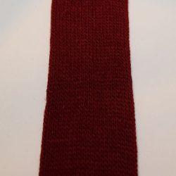 Gl. rød Tubestrik 4 cm
