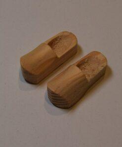 3 cm Træsko - 4 par