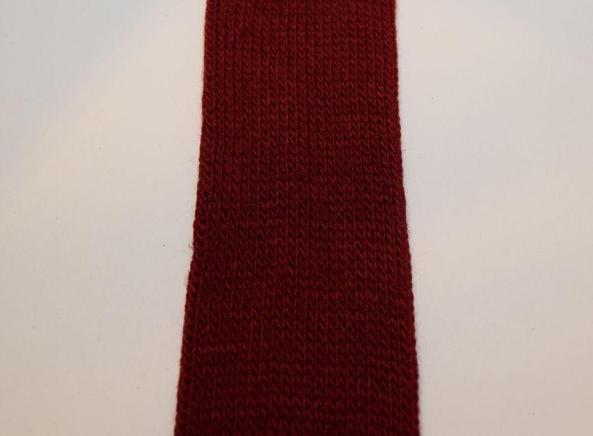 Gl. rød Tubestrik 5 cm