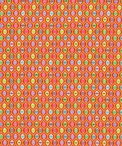 """7268 Orange pink med """"cat eyes"""""""