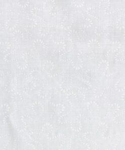 Hvid med hvidt doodle mønster