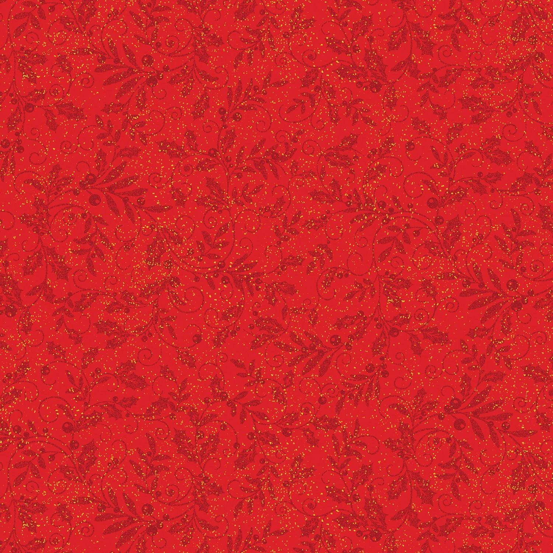 7291 - Rød mistelten m. metallic