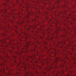 7288 - Rød med firkanter