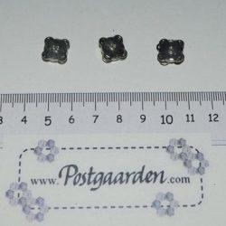 3 stk magnetknapper sølv 10 mm