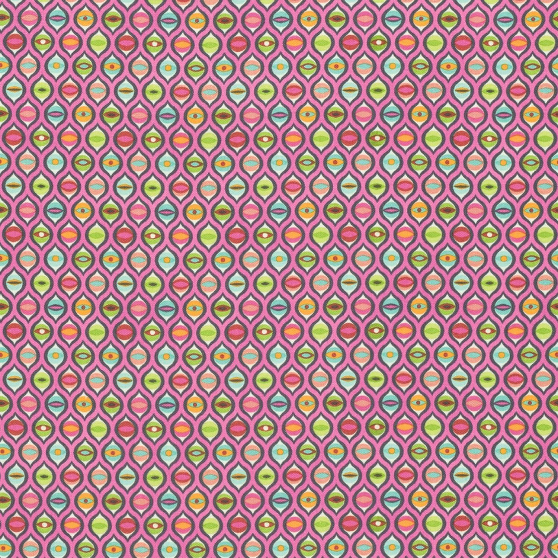 7279 Gl. rosa med øjne Tula Pink
