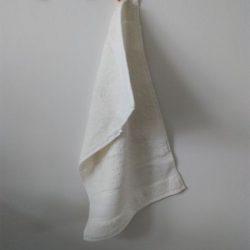 Råhvid gæstehåndklæde