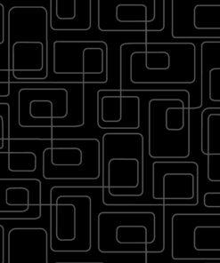 7321 - Sort med grå firkanter