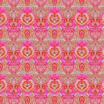 """7317 Pink """"frøer"""" - Tula Pink"""