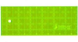 """Lineal 2½"""" x 6½"""" i neon rigtig god til mørkestoffer"""
