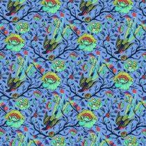 7334 Blå med fugle TULA PINK