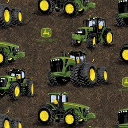 7349 Mørkbrun med John Deere traktorer