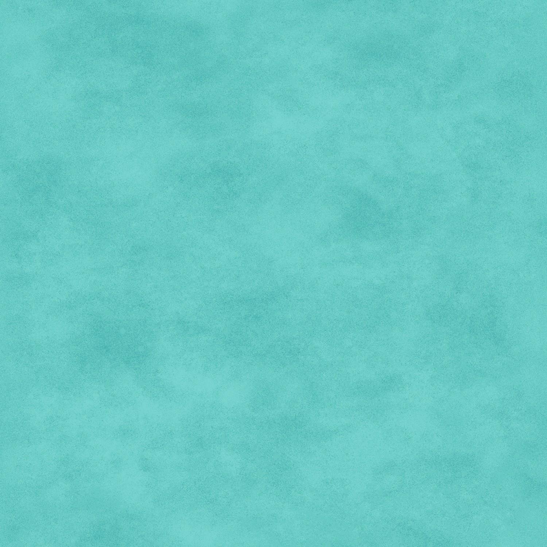 7365 Lys Tyrkis meleret patchworkstof