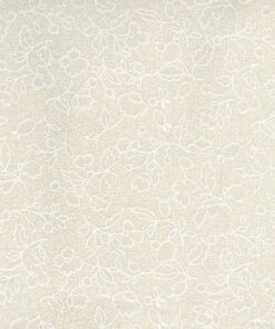 5205 Creme m. hvide blade