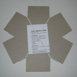 Stor 6-kantet æske med indsats