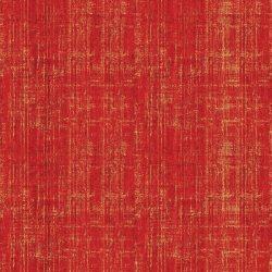 7352 - Rød m. guld streger
