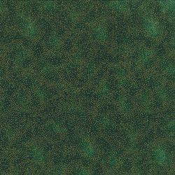 7385 Grøn m. guldprikker