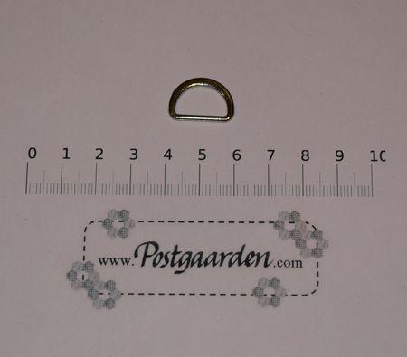D-ring sølv 20 mm
