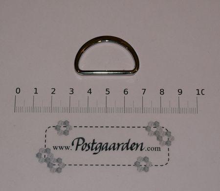 D-ring Sølv 37 mm