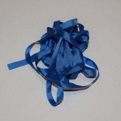 Silkebånd - Kornblomst blå 7 mm