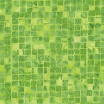 7390 Limegrøn med tern Bali/Batik