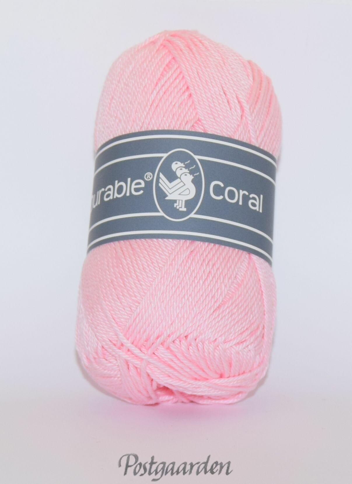386 - Rosa Durable Coral Bomuldsgarn