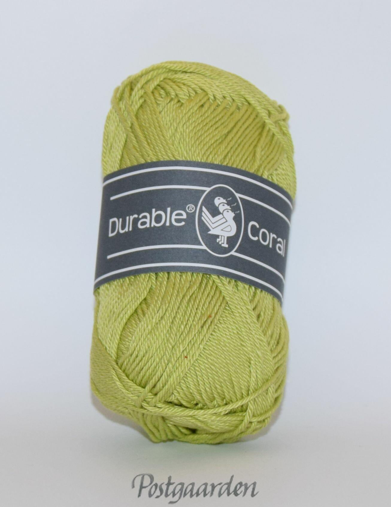 352 - Lime Durable Coral bomuldsgarn