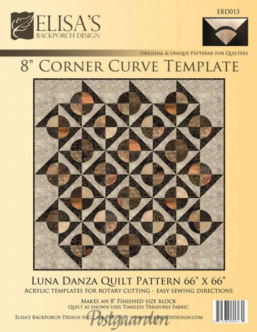 "8"" Corner Curve Template"