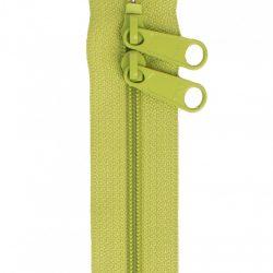 vårgrøn taskelynlås