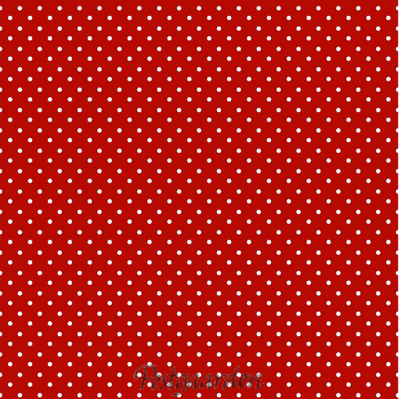 rød hvide prikker