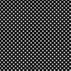 7417 Sort patchworkstof med hvide prikker