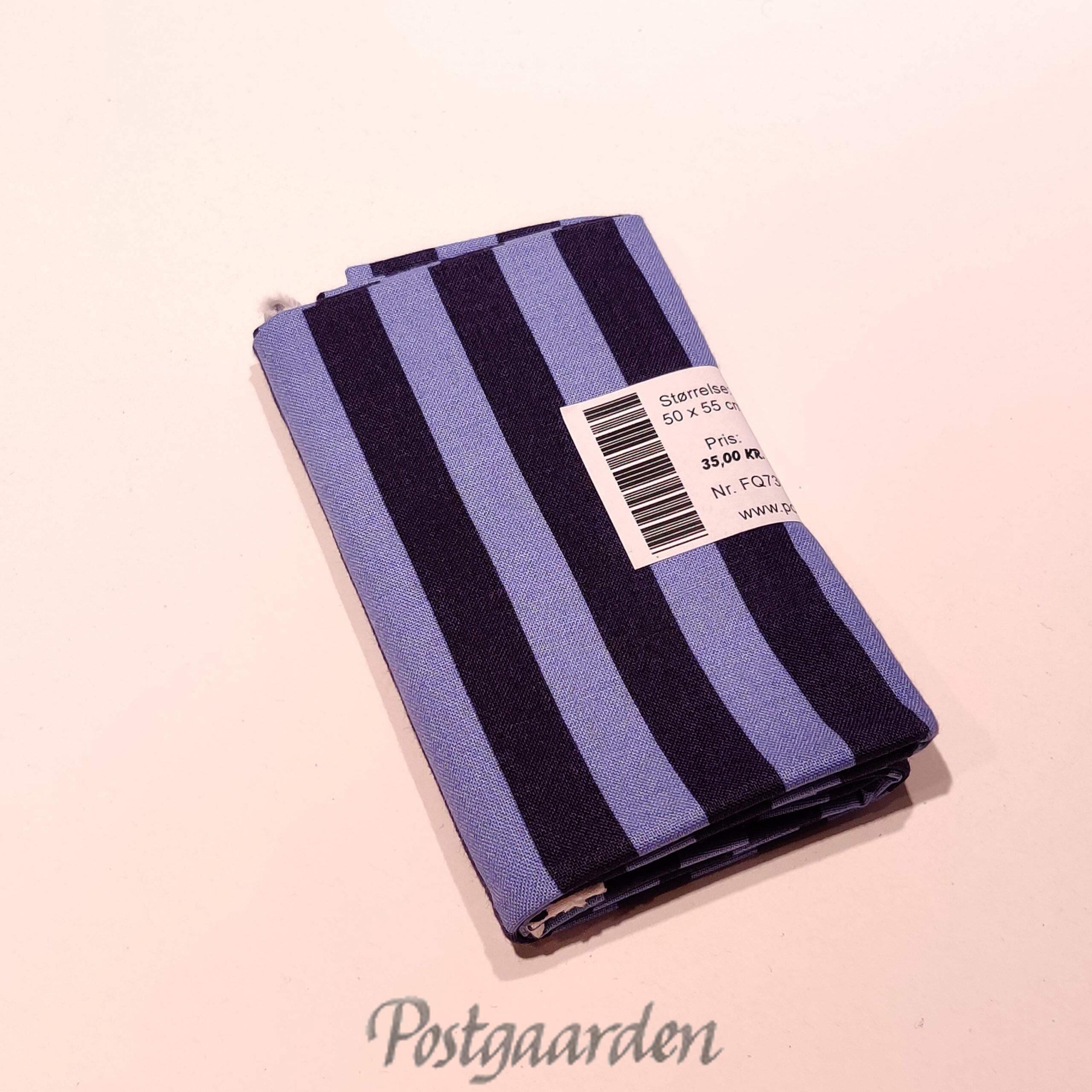 FQ7303 - Blå strib patchworkstof - TULA PINK fat quarter
