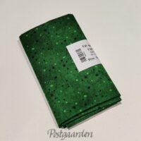 FQ7422 7420 mellemgrøn patchworkstof med prikker 50 x 55 cm fat quarter