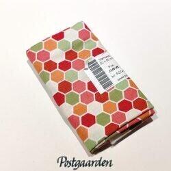 FQ7432 7432 mini hexagons rød grøn