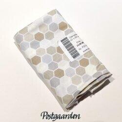FQ7433 Mini hexagons beige