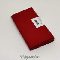 FQ7416 Rød ensfarvet patchworkstof - KONA - RICH RED