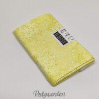 6848 Lemon patchworkstof med blade