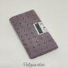 FQ7129 - Lilla patchworkstof med prikker