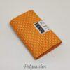 7306 Orange patchworkstof med ovaler