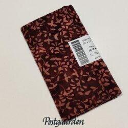 FQ6769 6769 Bordeaux m. blomster - Bali/Batik patchworkstof