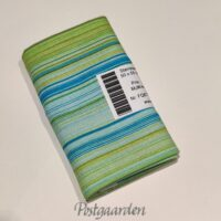 FQ6777 6777 Lime, blå, grøn Stribet patchworkstof fat quarter 50 x 55 cm