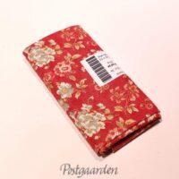 FQ7089 Rød m. blomster