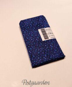 FQ7146 Mørkblå med prikker