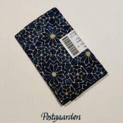 FQ7206 7206 Blå m. lyst blomster mønster Bali/Batik patchworkstof
